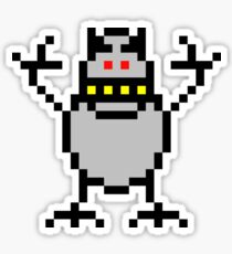 Pixel Abominable Snowman Sticker