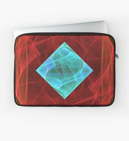 Antiquarian Pulsar #fractal art Laptop Sleeve