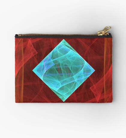 Antiquarian Pulsar #fractal art Zipper Pouch