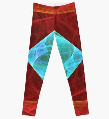 Antiquarian Pulsar #fractal art Leggings
