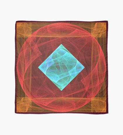 Antiquarian Pulsar #fractal art Scarf