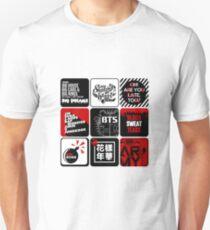 BTS Sticker/Pattern T-Shirt