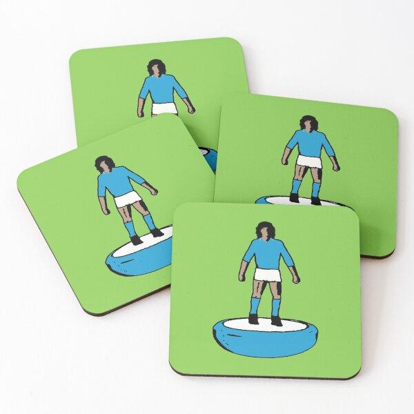 Subbuteo Player Napoli vintage Coasters (Set of 4)