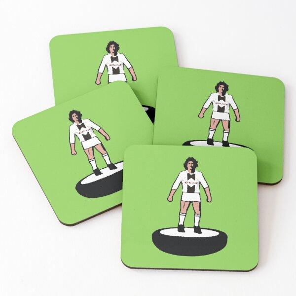 Subbuteo Player Udinese vintage Coasters (Set of 4)