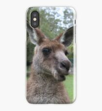 Kangaroo selfie iPhone Case/Skin