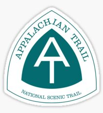 Pegatina Appalachian National Scenic Trail Sign