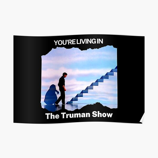Du lebst in THE TRUMAN SHOW Poster