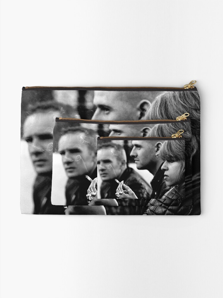 Alternate view of Bikers at the Man O' War Zipper Pouch