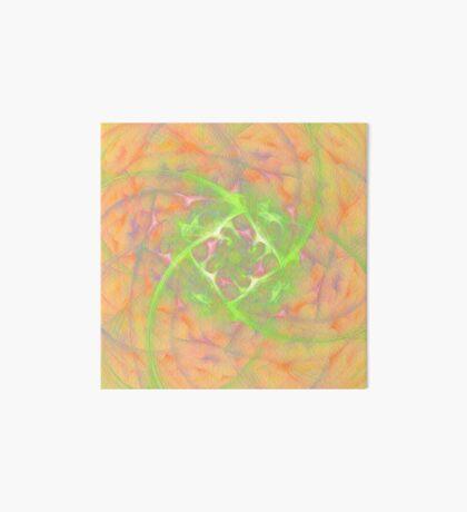 At the beginning of the rotation #fractal art 2 Art Board Print