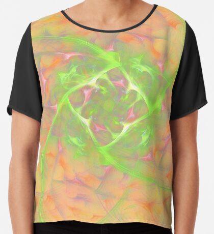 At the beginning of the rotation #fractal art 2 Chiffon Top