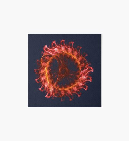 I am the Fire! #fractal Art Board