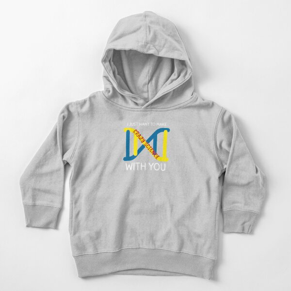 Crazy Science With You - Orphan Black Toddler Pullover Hoodie