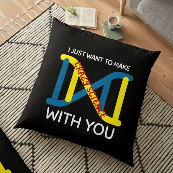 Crazy Science With You - Orphan Black Floor Pillow