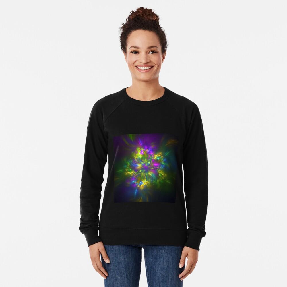 Five stars #fractals Lightweight Sweatshirt