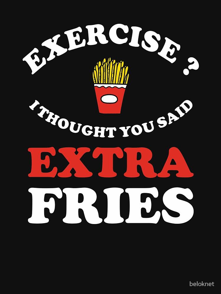 Extra Fries by beloknet