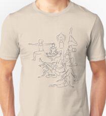 Yoga Manuscript Unisex T-Shirt