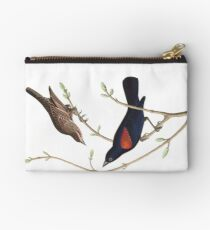 Red-winged Blackbird - John James Audubon Studio Pouch