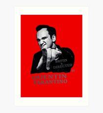 Lámina artística Escrita y dirigida por Quentin Tarantino