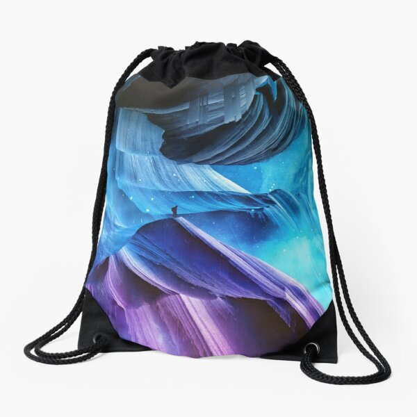 Never Seen RW Drawstring Bag