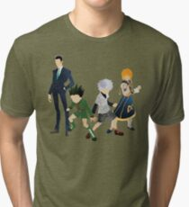 Protagonists - Hunter x Hunter  Tri-blend T-Shirt