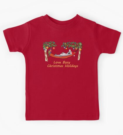Koala Relaxing on its Hammock – Love Busy Christmas Holidays!  Kids Clothes