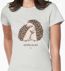 Hedge-hugs Women's Fitted T-Shirt