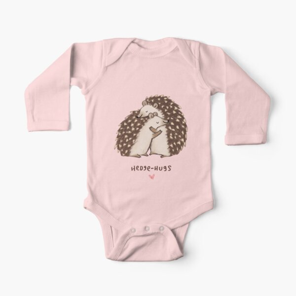 Hedge-hugs Long Sleeve Baby One-Piece