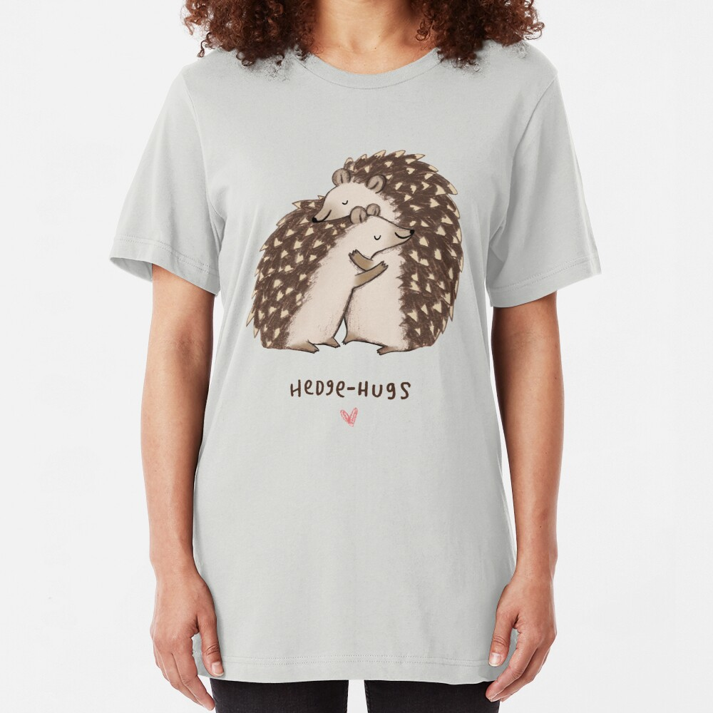 Hedge-hugs Slim Fit T-Shirt