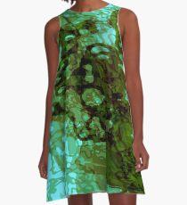 20160929 green oblivion no. 3 A-Line Dress