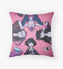 Misfits Throw Pillow