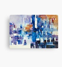 Urban landscape 1 Canvas Print