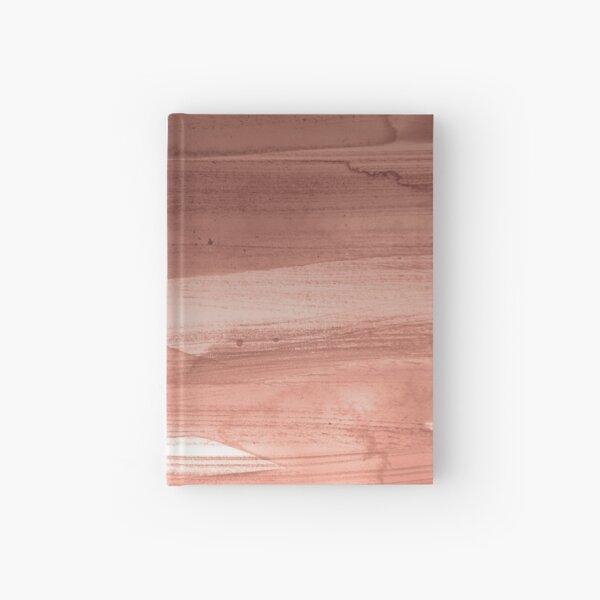 Rose Gold Watercolor splash Hardcover Journal