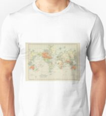 Old world map Unisex T-Shirt