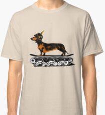 Dachshund Tank Commander Classic T-Shirt