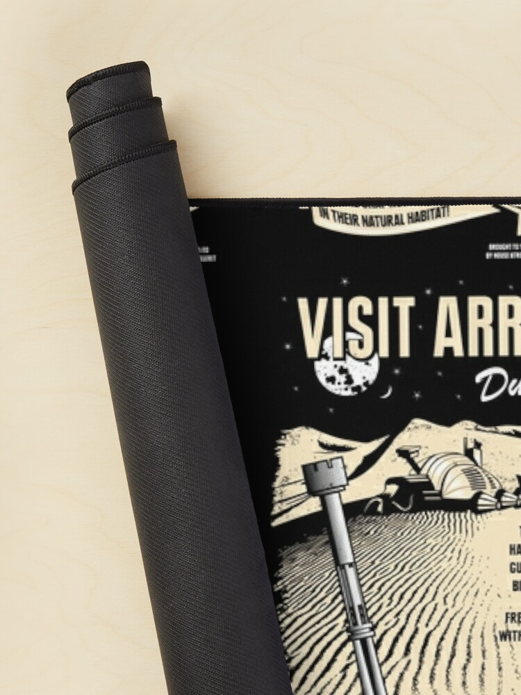 Alternate view of Visit Arrakis Mouse Pad