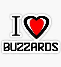 I love Buzzard Sticker
