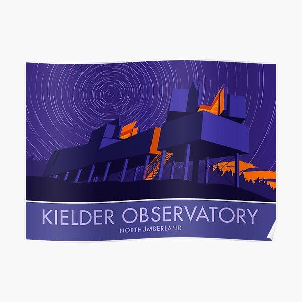 Kielder Observatory, Northumberland Poster