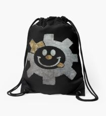 Bolt Face - Smiley (Metal) Drawstring Bag
