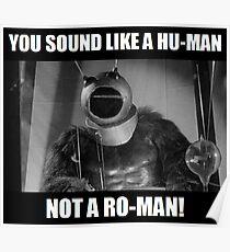 Ro-Man! Poster