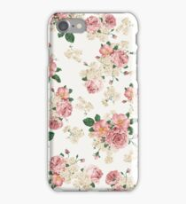 Vintage Floral iPhone Case/Skin