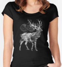 Deer Wanderlust Women's Fitted Scoop T-Shirt