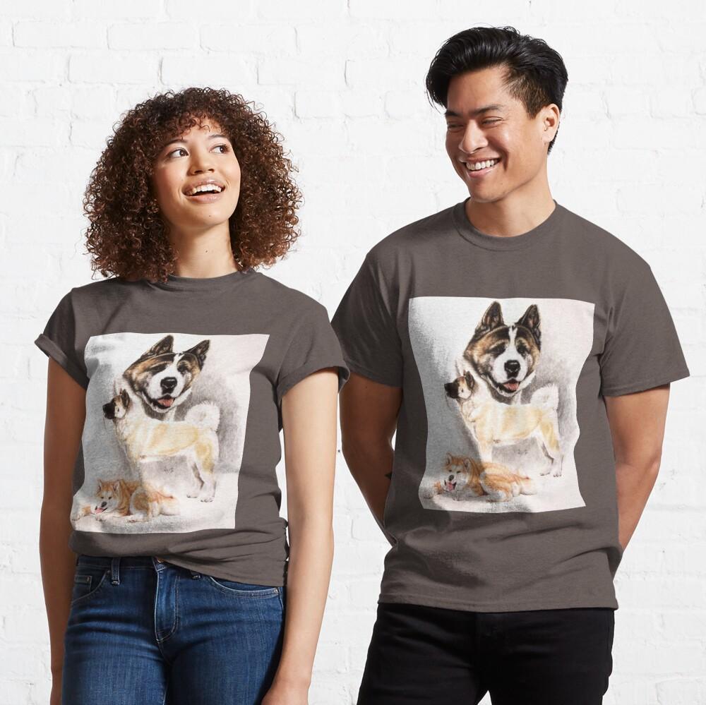 Akita Collage Classic T-Shirt