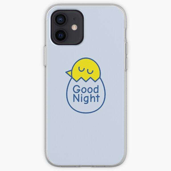 Good Night Baby Duck iPhone Soft Case