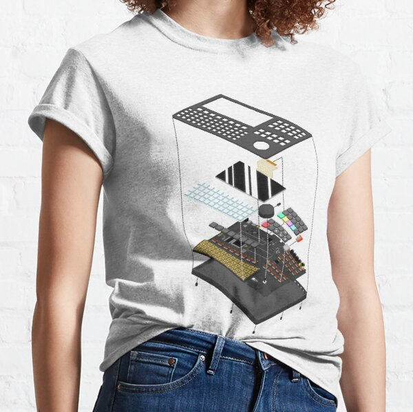 Polyend Tracker Exploded View Classic T-Shirt