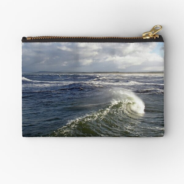 Say hello wave goodbye Zipper Pouch
