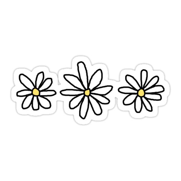 Quot Flower Sticker Pack Quot Stickers By Elizabethorrr Redbubble