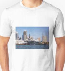 USS Midway ~ San Diego Bay, California ~ USA T-Shirt