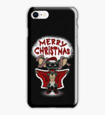 Flashing Through The Snow (colour/with text) iPhone 8 Case