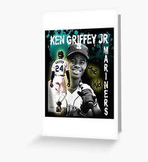 "Ken Griffey Jr. ""The Kid"" Greeting Card"