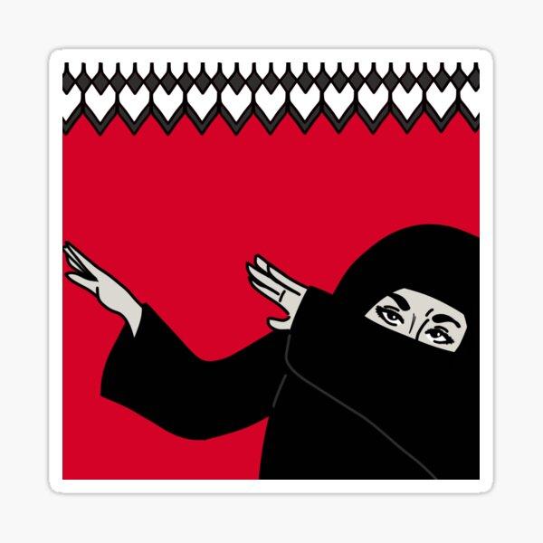 Dabbing Hijabi Sticker